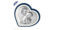 FUSCO argento Beltrami Icona capezzale cuore sacra famiglia bel6500/1bp € 19,00