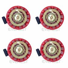 NEW 4 PACK OF PULL START RED RECOIL COVER 11HP & 13HP FITS HONDA GX340 & GX390