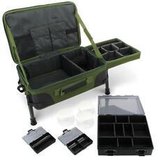 NGT Karpfenangeln Ausrüstung Station Mit Biwak-tisch Box System Carry all Bag