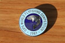 Pin Badge • CIPS World Flyfishing Competition 1987
