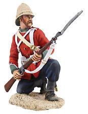 BRITAINS SOLDIERS ZULU BRIT 24TH FOOT KNEELING DEFENDING-WB20065 METAL military