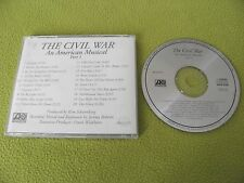 "The Civil War - An American Musical VERY RARE OOP Promo ""Atlantic PRCD 6776"" CD"