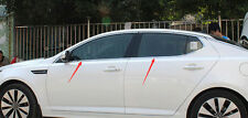 Stainless Bottom Window Sill Trim 4pcs For Kia Optima K5 2011 2012 2013 2014