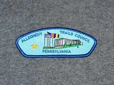BSA CSP...ALLEGHENY TRAILS COUNCIL 527...S-7 ISSUE...COUNCIL MERGED 1993
