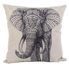 Hot Cartoon Animal Style Elephant Throw Pillow Case Decor Cushion Covers Square