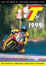 Isle of Man TT - Official Review 1999 (New DVD) Clash of the Titans