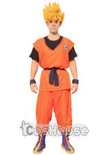 DBZ Dragon Ball Son Goku Cosplay Halloween Party Costume Unisex Custom-made