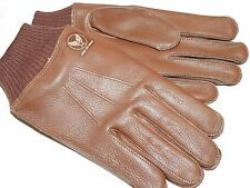 US Army AAF WW2 EASTMAN P-51 MUSTANG FIGHTER PILOT A-10 LEATHER FLIGHT GLOVES