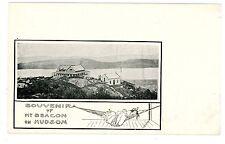 Beacon NY-TOP OF MOUNT BEACON & HUDSON RIVER-Postcard Matteawan/MT/Art Nouveau