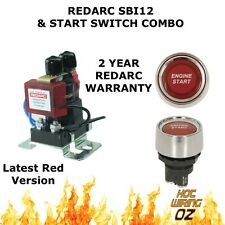 REDARC SBI12 WITH START SWITCH SMART START BATTERY ISOLATOR SOLENOID  100 Amp