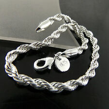 468 GENUINE REAL 925 STERLING SILVER SF SOLID LADIES RETRO STYLE BRACELET BANGLE