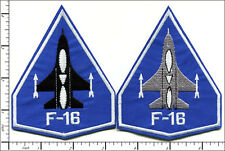 "20 Pcs Embroidered Iron on patches Air Force F-16 Falcon 3.25""x4.19"" AP027fA"