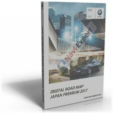 Bmw Road Map Japan Premium 2017 CIC Navi Data Pack (map Data + FSC code)