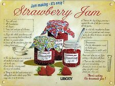 Strawberry Jam large metal sign   (og 4030)  REDUCED TO CLEAR-------------------