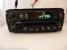 02 03 04 05 06 07 Dodge Chrysler Jeep Radio CD Player OEM  P56038589AM  Bulk 14