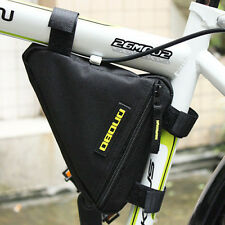 NEW BIKE CYCLE TRIANGULAR FRAME BAG ZIPPED TRIANGLE CORNER BICYCLE STORAGE POUCH
