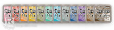 TIM HOLTZ DISTRESS OXIDE INK PADS - SET OF ALL 12 NEW!  PREORDER - FREE SHIPPING