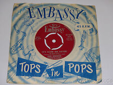 RIKKI HENDERSON Save The Last dance/ It's Now Or Never 45 Embassy 419 UK