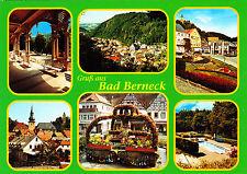 Gruß aus Bad Berneck ,.ungelaufene AK