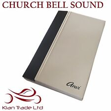 220V ELECTRONIC WIRED VOCAL DOORBELL - CHURCH BELL SOUND DOOR BELL
