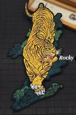 Tiger patch / Tattoo Patch / Large patch / Embroidered patch / Sew on patch