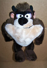"CLEAN Taz Tasmanian Devil Plush 11"" Warner Bros #1525 Mighty Star Collectable"