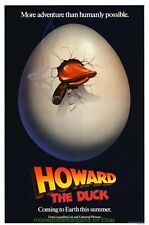 HOWARD THE DUCK MOVIE POSTER Original 1st Advance Style 27x41 GEORGE LUCAS FILM