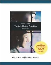 The Art of Public Speaking by Stephen E. Lucas (2012, Paperback)