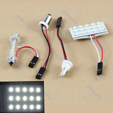 T10 BA9S 15-LED 3528 SMD White Interior Room Dome Door Car Light Panel Lamp Bulb