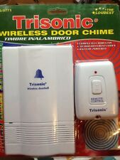 Trisonic Wireless Door Chime Model: TS-9771