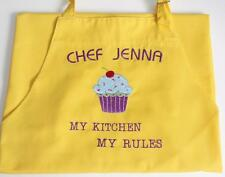 Cupcake PERSONALIZED Chef Apron Embroidered Cooking Kitchen BBQ restaurant