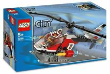 FIRE HELICOPTER, Lego City: Fire 7238, NEW in Sealed Box w/ Fireman figure