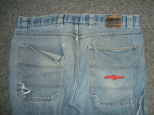 ILLMATIC DESIGNZ SKATER SK8ER OLDSCHOOL BAGGY JEANS in 38 (EHER W40) !