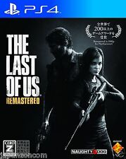 The Last of Us Remastered SONY PS4 PLAYSTATION JAPANESE NEW JAPANZON
