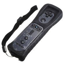 NOIR Manette Wiimote Remote Controller + Housse Telecommande Pour Nintendo Wii