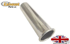 "Exhaust Tail Pipe Polished Stainless Steel  2 1/8"" 54mm"
