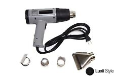 Dual Speed Electrical Heat Gun with 4 Nozzles for Crafts Embossing Power Tools