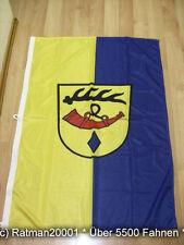 Fahnen Flagge Nürtingen Banner Hoch 3 Karabinahaken Digitaldruck - 80 x 120 cm