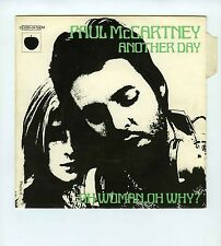 45 RPM SP PAUL McCARTNEY ANOTHER DAY