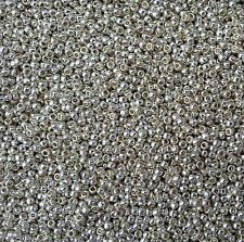 20grams Perm finish Galvanized Aluminium Toho Size 11 Seed Beads - PF558