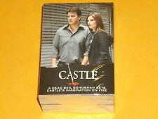 CASTLE  Base Set of 72 Premium Trading Cards Cult TV Nathan Fillion,Beckett,2014