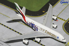 "GEMINI JETS EMIRATES ""PSG FRANCE  AIRBUS A380-800 1:400 DIE-CAST MODEL GJUAE1551"