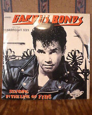 Gary US Bonds Standing in the Line of Fire LP Phoenix Records Rare Sealed Mint