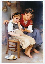 Bouguereau Print Little Sulk Petite Boudeuse Young Girl Sulking Big Sister Gift
