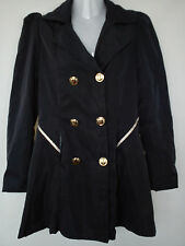 Nice NAVY spring autumn ladies womens coat jacket size M size 10
