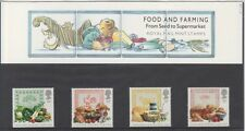 GB 1989 FOOD AND FARMING PRESENTATION PACK 197 SG 1428 1431 MINT STAMP SET