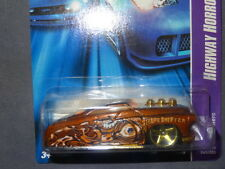 HW HOT WHEELS 06 HIGHWAY HORROR #3/5 '49 DRAG MERC HOTWHEELS COPPER FORD VHTF