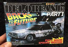 BACK TO THE FUTURE PART 1 DELOREAN  1/43 MODEL KIT AOSHIMA JAPAN