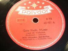 9/1R Willy Schneider - Gute Nacht Mutter - Unter dem Sternenzelt