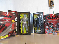Set Of 2 1997 Batman And Robin Mr. Freeze 12 In. Action Figure Dolls & Vehicles!